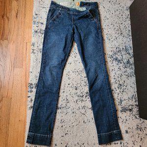 Pilcro &the Letterpress Anthro Denim Jeans Sz 25